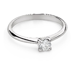 """Engagement ring with brilliant """"Goddess 213"""""""
