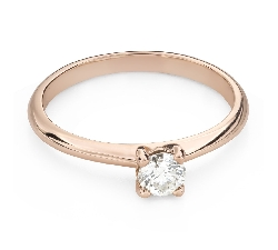 """Engagement ring with brilliant """"Goddess 215"""""""