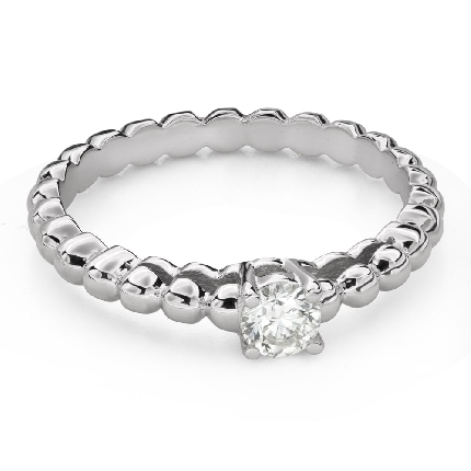 """Engagement ring with brilliant """"Strength 143"""""""