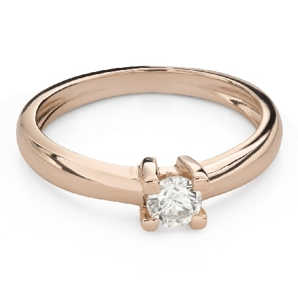 """Engagement ring with brilliant """"Strength 140"""""""