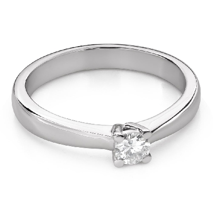 """Engagement ring with brilliant """"Goddess 222"""""""