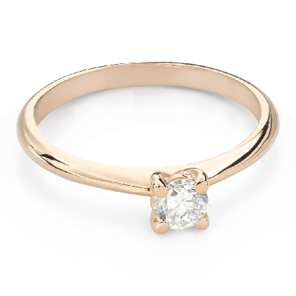 """Engagement ring with brilliant """"Goddess 224"""""""