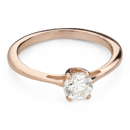 """Engagement ring with brilliant """"Goddess 225"""""""