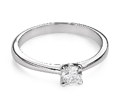 """Engagement ring with brilliant """"Goddess 228"""""""