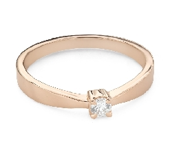 """Engagement ring with brilliant """"Strength 147"""""""