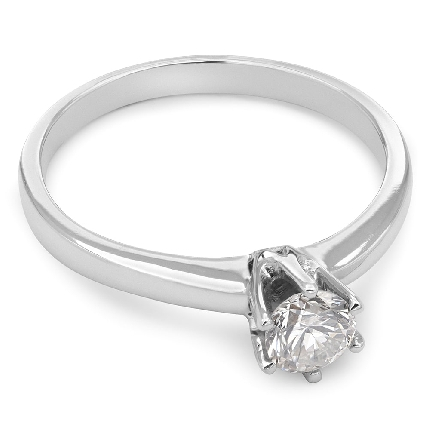 """Engagement ring with brilliant """"The queen 106"""""""