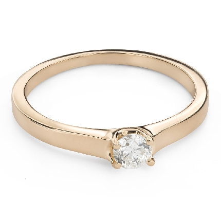 """Engagement ring with brilliant """"Goddess 236"""""""