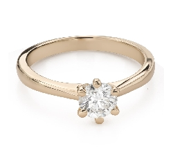 """Engagement ring with brilliant """"Goddess 237"""""""