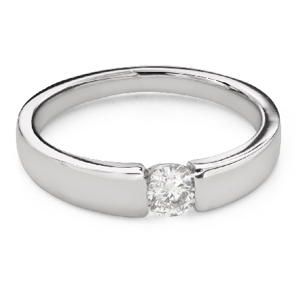 """Engagement ring with brilliant """"Between the rocks 70"""""""