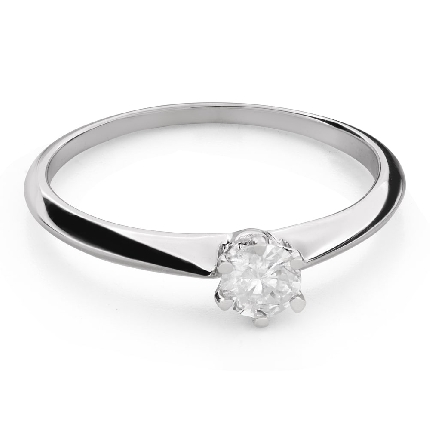 """Engagement ring with brilliant """"The queen 111"""""""