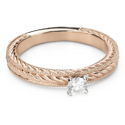 """Engagement ring with brilliant """"Grace 147"""""""