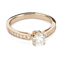 """Engagment ring with brilliants """"Grace 149"""""""