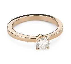 """Engagement ring with brilliant """"Goddess 245"""""""