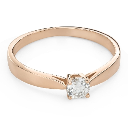 """Engagement ring with brilliant """"Goddess 247"""""""