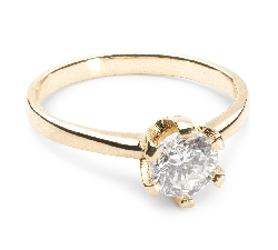 """Engagement ring with brilliant """"Unforgettable 28"""""""