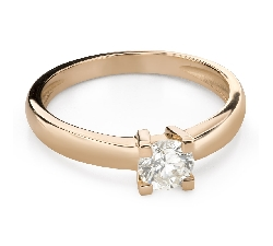 """Engagement ring with brilliant """"Strength 158"""""""