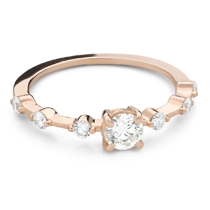 """Engagement ring with brilliant """"Strength 160"""""""