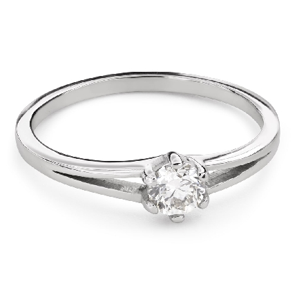 """Engagement ring with brilliant """"The only one 157"""""""