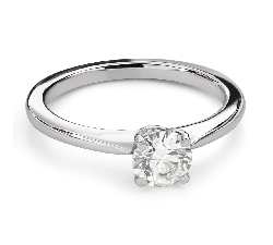 """Engagement ring with brilliant """"Unforgettable 30"""""""