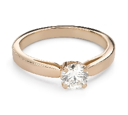 """Engagement ring with brilliant """"Unforgettable 31"""""""
