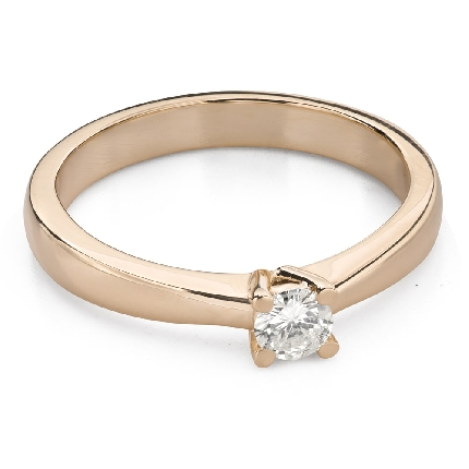 """Engagement ring with brilliant """"Goddess 255"""""""