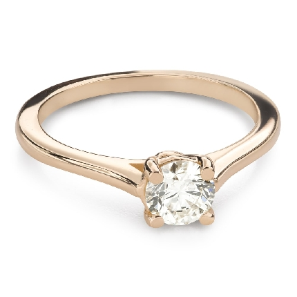 """Engagement ring with brilliant """"Goddess 258"""""""