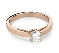 """Engagement ring with brilliant """"Goddess 259"""""""