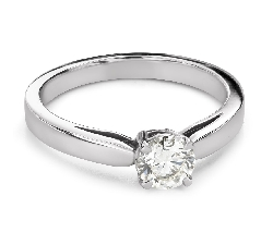 """Engagement ring with brilliant """"Goddess 260"""""""