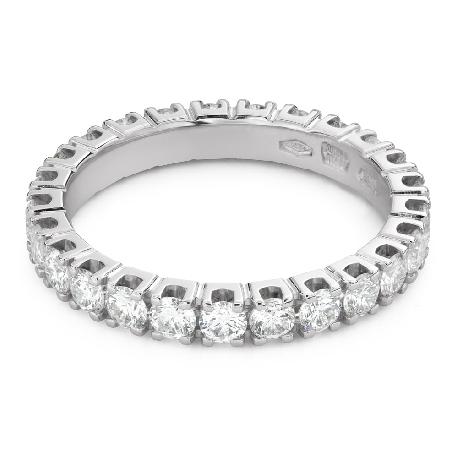 "Gold ring with brilliants ""Diamond strip 58"""