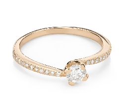 """Engagement ring with brilliant """"In love 70"""""""
