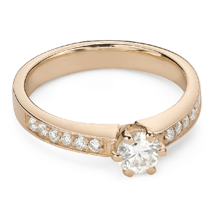 """Engagment ring with brilliants """"Grace 160"""""""