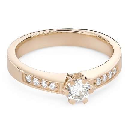 """Engagment ring with brilliants """"Grace 164"""""""