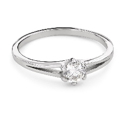 """Engagement ring with brilliant """"The only one 162"""""""