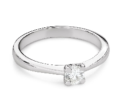 """Engagement ring with brilliant """"Goddess 262"""""""