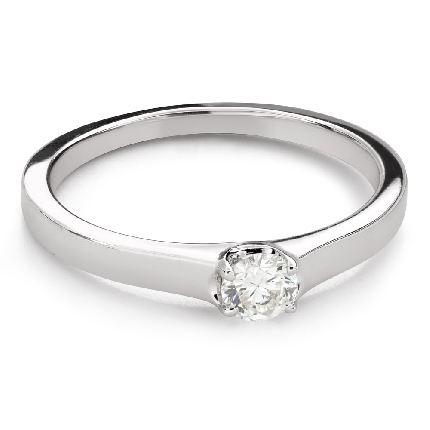 """Engagement ring with brilliant """"Goddess 265"""""""