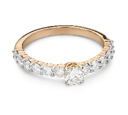 """Engagement ring with brilliant """"Grace 167"""""""