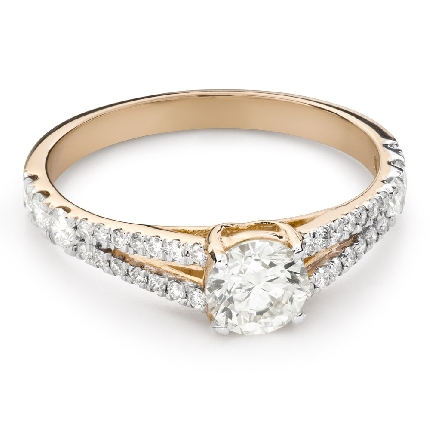 """Engagement ring with brilliant """"Grace 168"""""""