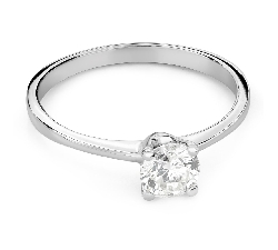 """Engagement ring with brilliant """"Goddess 269"""""""