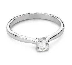 """Engagement ring with brilliant """"Goddess 270"""""""