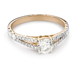 """Engagement ring with brilliant """"Grace 169"""""""