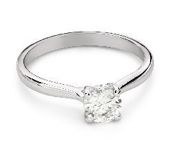 """Engagement ring with brilliant """"Goddess 271"""""""
