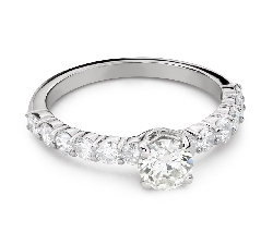 """Engagement ring with brilliant """"Grace 175"""""""