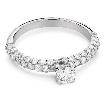 """Engagment ring with brilliants """"Grace 176"""""""