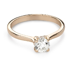 """Engagment ring with brilliants """"Goddess 274"""""""
