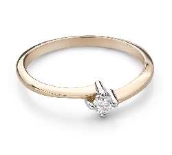 """Engagement ring with brilliant """"Embraced 36"""""""