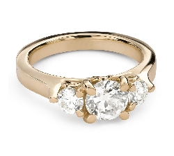 """Engagement ring with brilliant """"Unforgettable 33"""""""