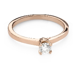 """Engagement ring with brilliant """"Goddess 275"""""""