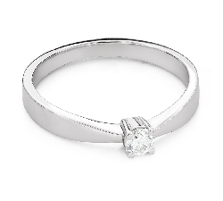 """Engagement ring with brilliant """"Strength 161"""""""