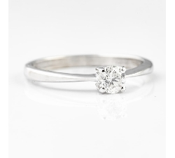 "Auksinis žiedas su Briliantu ""Deimantas 11"""