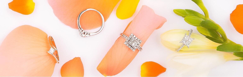 Modernus sužadėtuvių žiedai